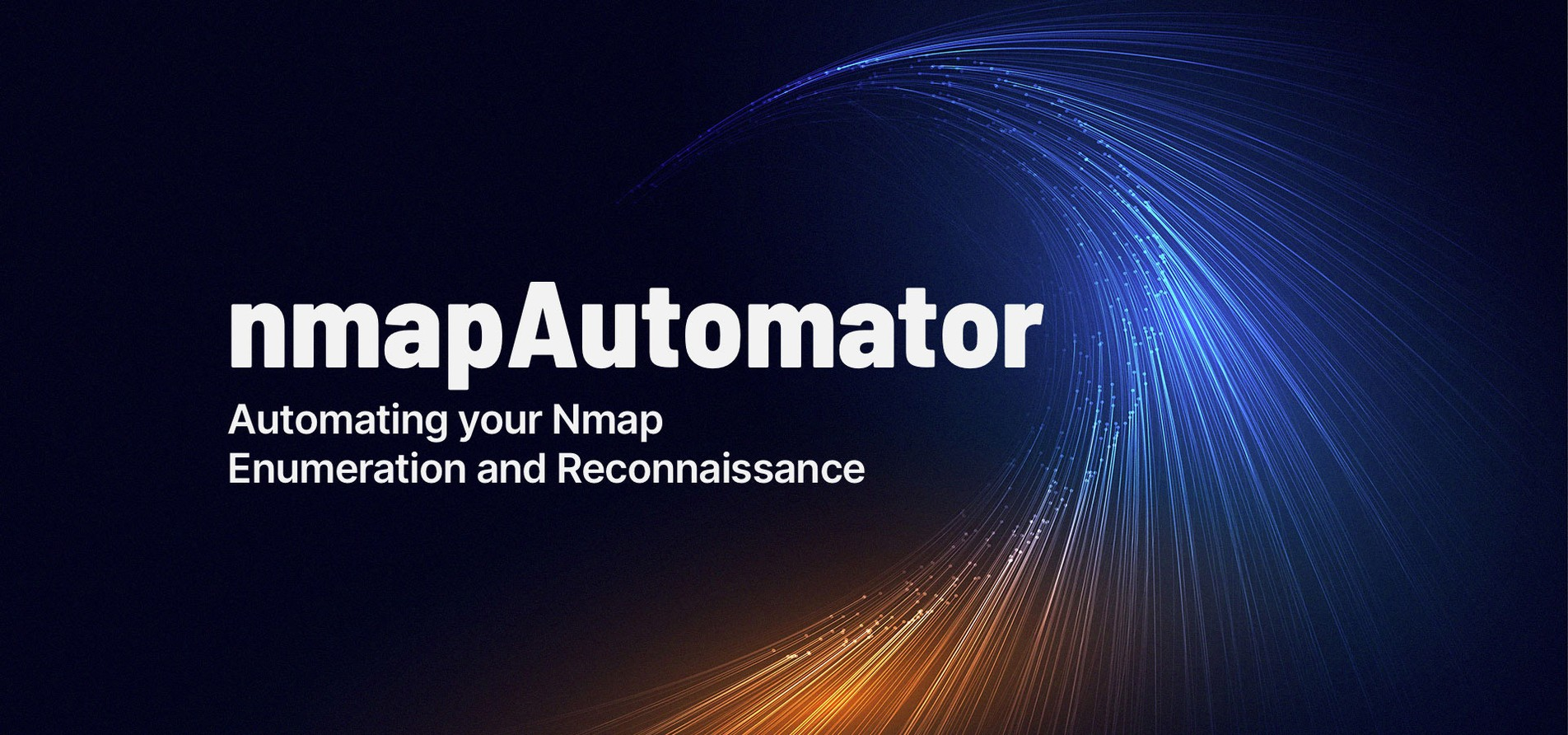 nmapAutomator: Automating your Nmap Enumeration and Reconnaissance.