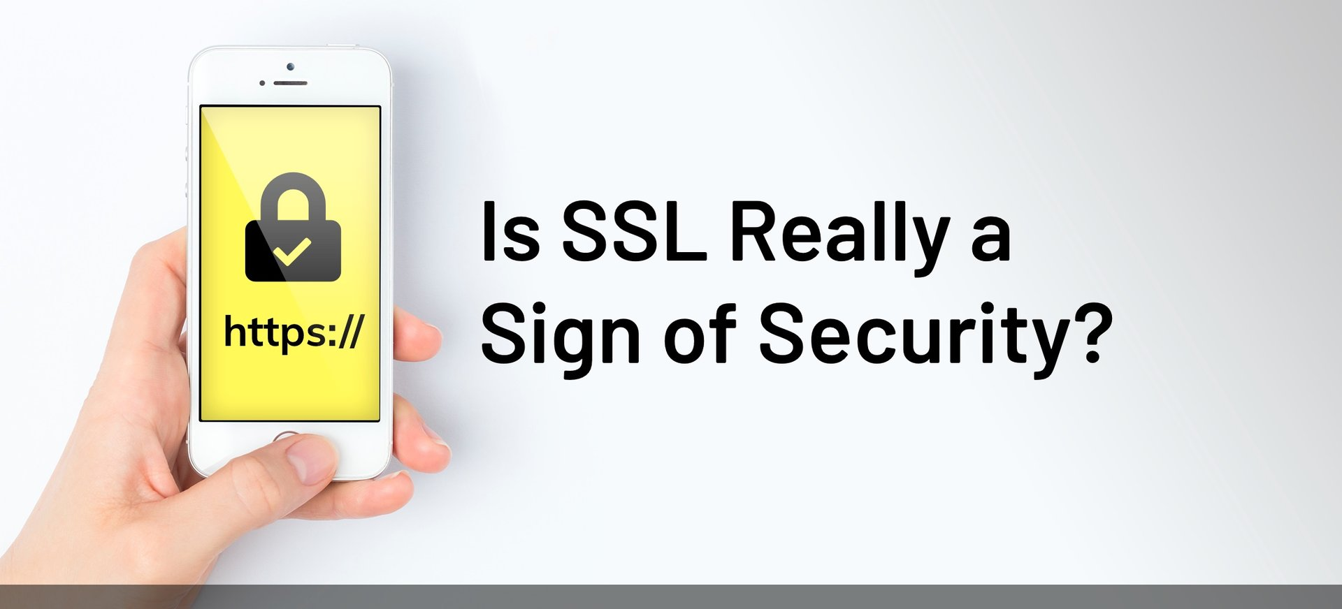 Is SSL really a sign of security?.
