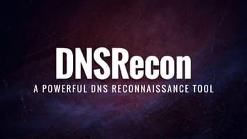DNSRecon: a powerful DNS reconnaissance tool