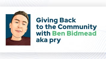 Giving Back to the Community with Ben Bidmead aka pry