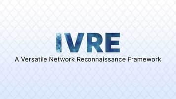 IVRE: A Versatile Network Reconnaissance Framework