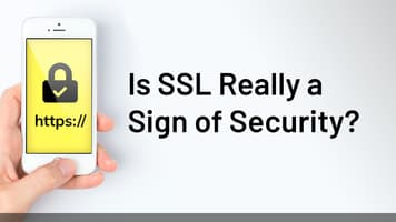Is SSL really a sign of security?