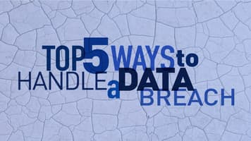 Top 5 Ways to Handle a Data Breach