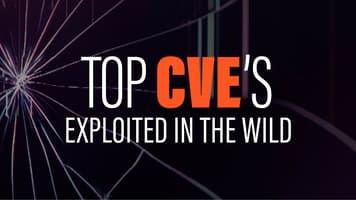 Top CVE's exploited in the wild