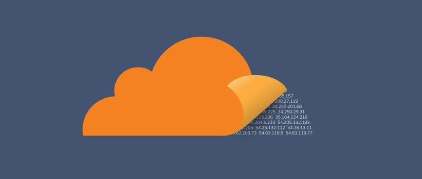 Exploring the complete list of Cloudflare public DNS domains.
