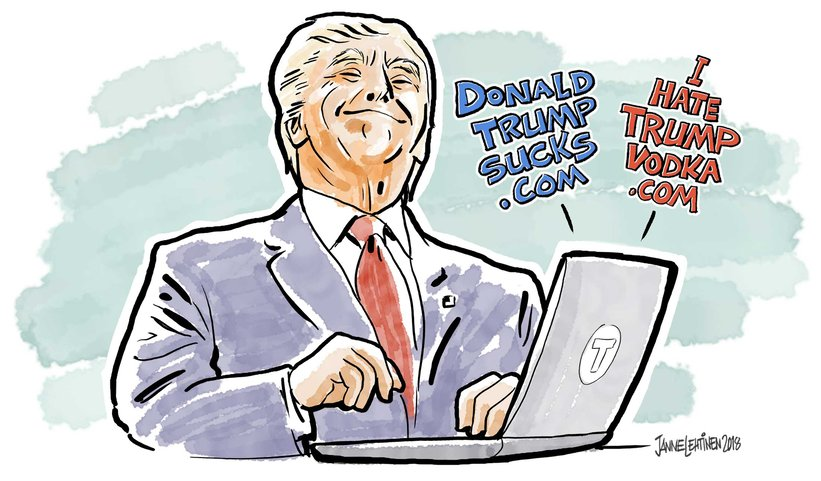 3,450 Trump Family's Registered Domains Exposed.