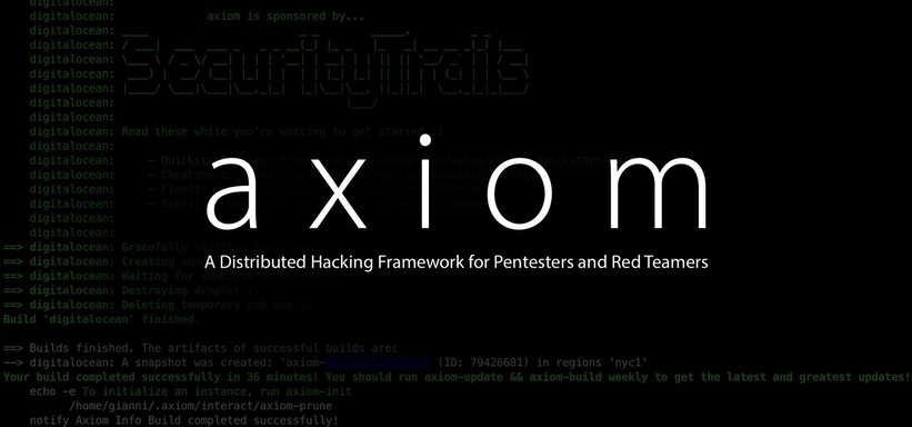 Axiom: A Distributed Hacking Framework for Pentesters and Red Teamers.