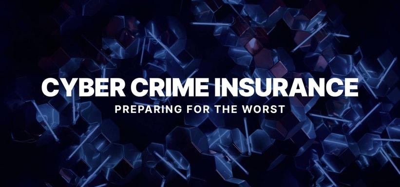 Cyber Crime Insurance: Preparing for the Worst.