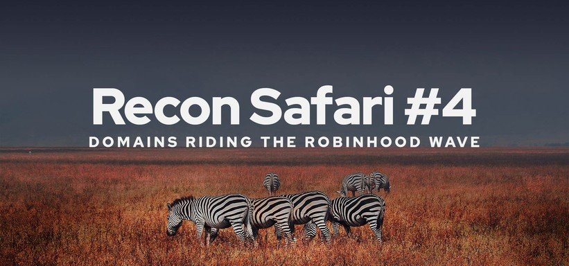 Recon Safari #4: Domains Riding the Robinhood Wave.